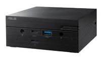 Неттоп Asus PN62S-BB3040MD i3 10110U (2.1)/UHDG/noOS/GbitEth/WiFi/BT/65W/черный
