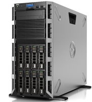 "Сервер Dell PowerEdge T340 1xE-2224 1x16Gb 1RUD x8 1x1.2Tb 10K 2.5""/3.5"" SAS H330 FH iD9En 1G 2P 1x495W 3Y NBD (PET340RU1-01)"
