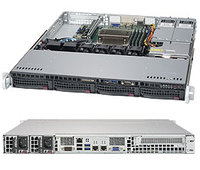 Платформа SuperMicro SYS-5019S-MR RAID 2x400W